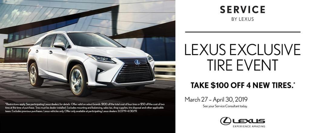 Spring Lexus Tire Event Lexus dealership, Lexus, Lexus