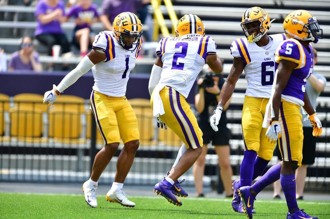 There Is A Dance Party In The Endzone Lsu Football Lsu Football