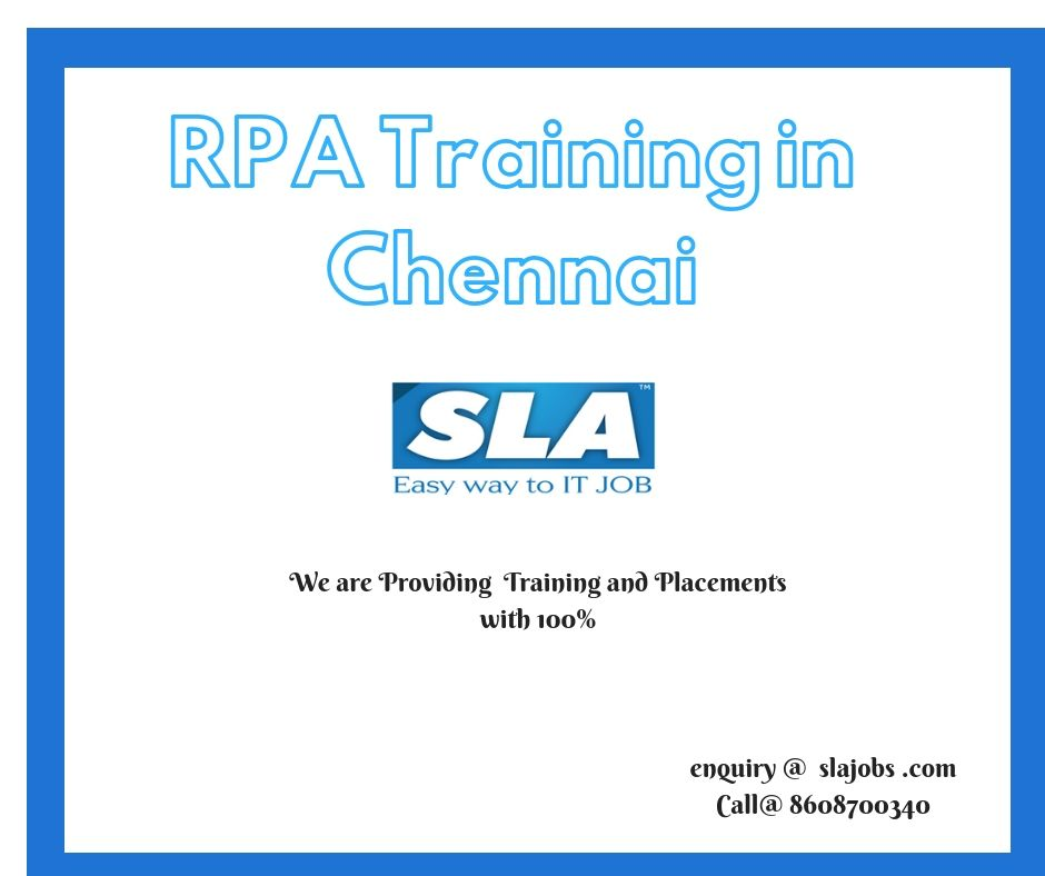 Sla Is A Leading Provider Of Robotic Process Automation Rpa