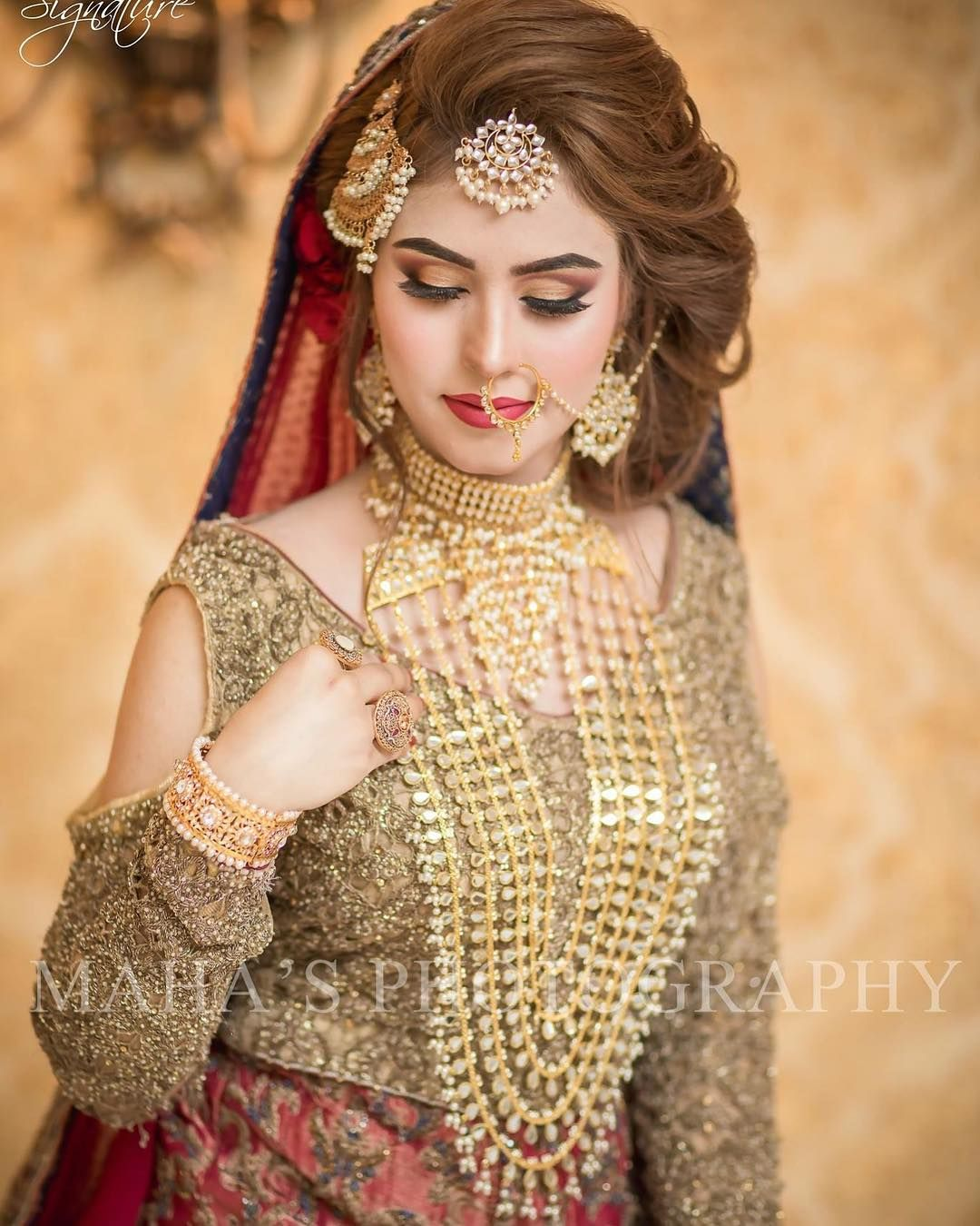 Beautiful Pakistani Bridal Dresses: Idea By GH Cameron On COUTURE: WEDDINGS
