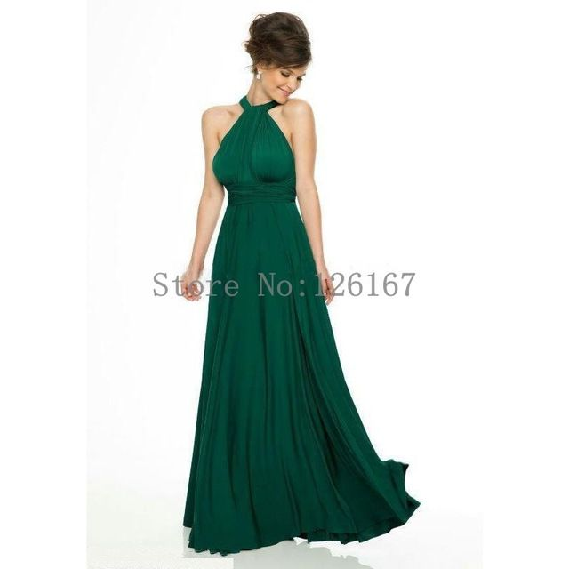 Abendkleider Emerald Green Formal Dress Evening Criss Cross Sexy ...