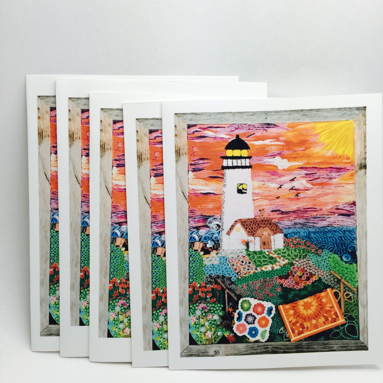 Cheap christmas gift ideas presents for dad presents for all great all occasion gift handmade all occasion paper quilled art photo greeting card lighthouse quilled art mosaic quilled art photo kristyandbryce Choice Image