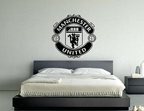 Manchester United Football Club Badge Emblem Vinyl Wall