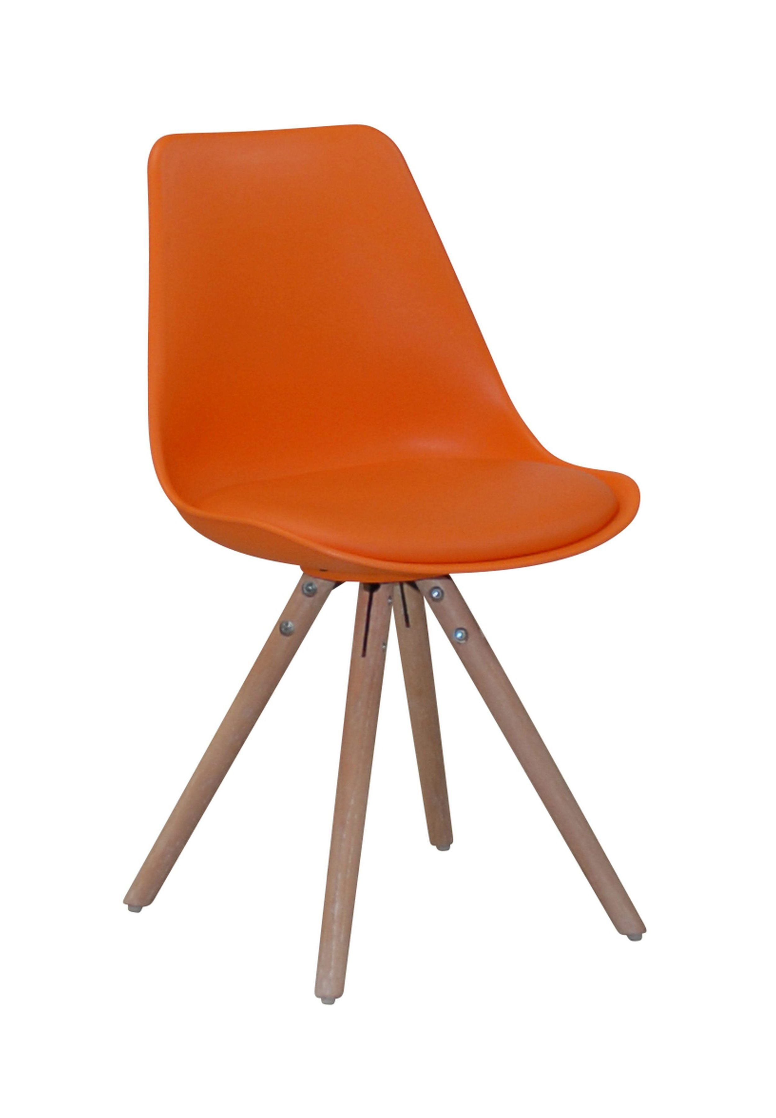 Chaise Scandinave Orange Oslo But Eetkamerstoelen Stoelen Meubels