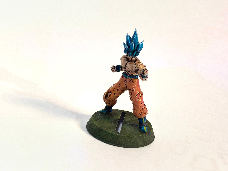 Goku Super Saiyan Miniature Dragon Ball Z 32mm Warhammer Akira Toriyama
