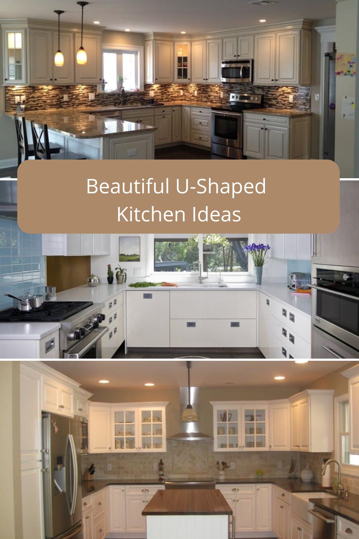 20 Beautiful U-Shaped Kitchen Design Ideas (PHOTO GALLERY ...