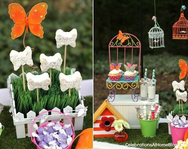 Whimsical Kids Garden Party Ideas Kids Party Ideas Party 3rd