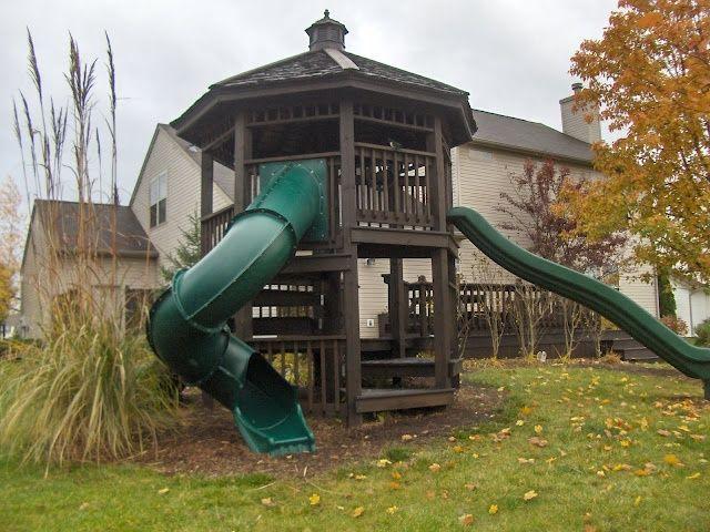 Love This Gazebo Style Playground/fort