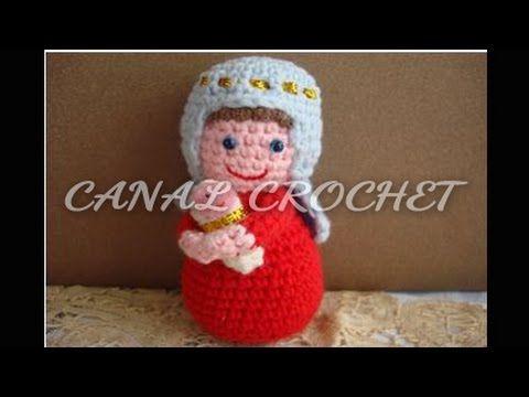 Tejido Amigurumi Tutorial : Virgen maría y niño jesús tejidos a crochet amigurumi youtube