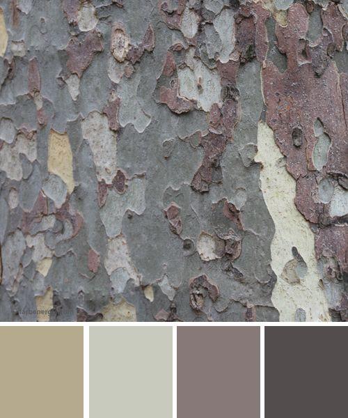 Neutrale Farbe, Farbpalette Grau
