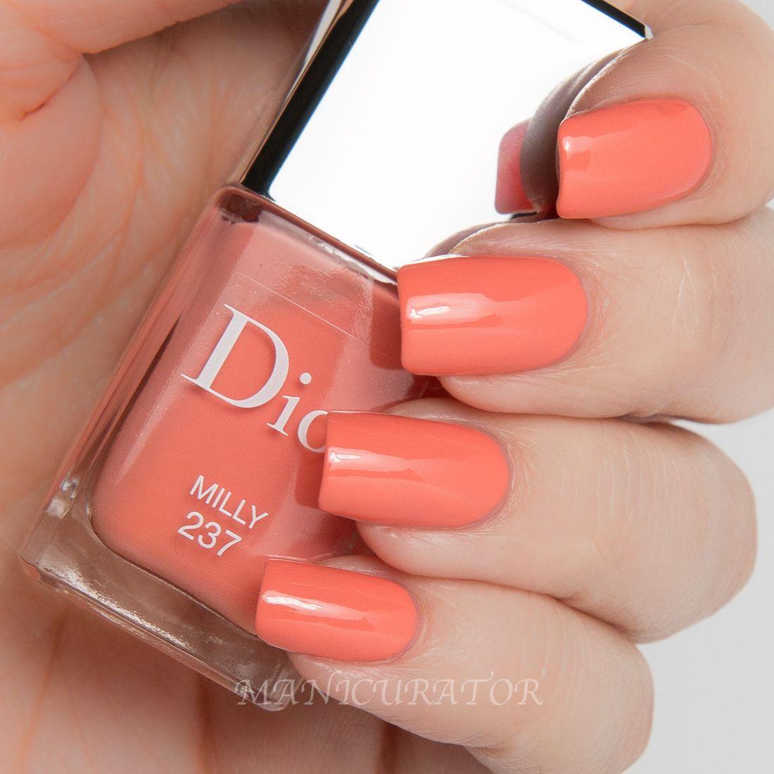 Dior-Gel-Milly-237-Swatch   Adornments   Pinterest   Swatch, Dior ...