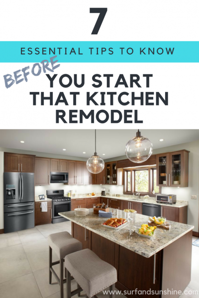 7 Essential Kitchen Remodeling Tips You Need to Know Before You ...