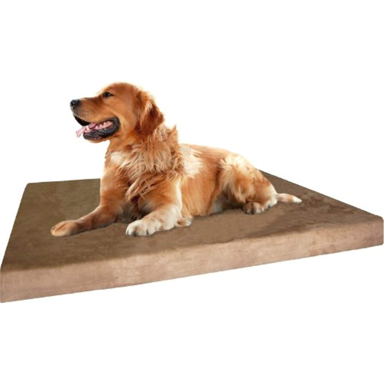Dogbed4less Premium Xl Orthopedic Memory Foam Dog Bed Waterproof