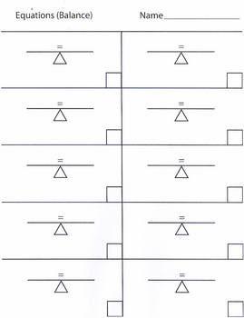Equations Template (balance)