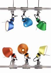 Artemide Tolomeo Micro Pinza Spot Klemlamp Klemmleuchte Lampen Spots Und Leuchten