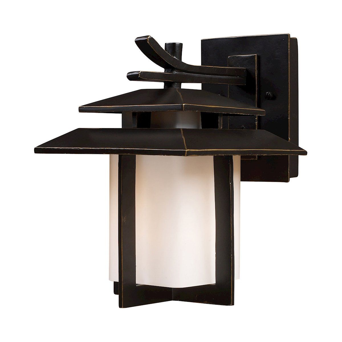 Kanso light outdoor sconce in hazlenut bronze products