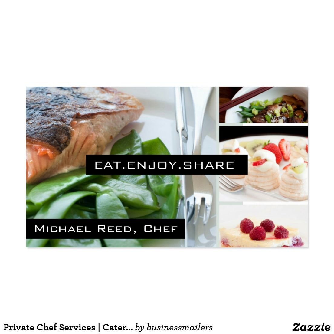 Private chef services catering business card sold thank you to private chef services catering business card sold thank you to the customer in ca reheart Gallery