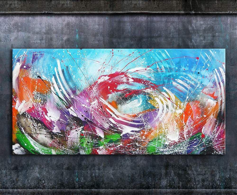 nettis art annette freymuth acrylbildim grossformat auf leinwand un keilrahmen farbspachteltechnik in mehreren schichten gemalt g artwork starry night meine fotoleinwand 20x30