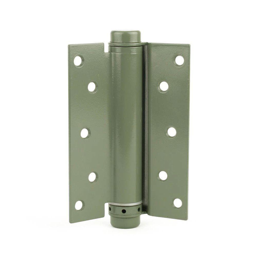 Everbilt 6 In Prime Coated Adjustable Spring Door Hinge 20452 In 2020 Spring Door Hinge Door Hinges Door Handles