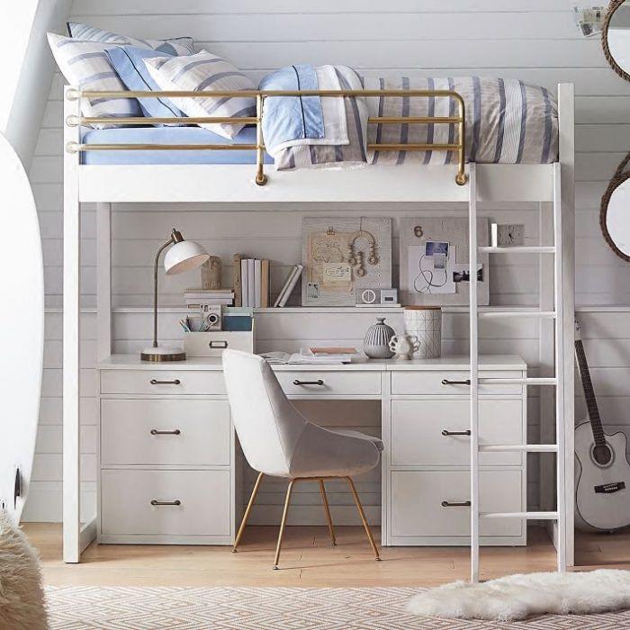11 ideas para aprovechar el espacio en habitaciones for Habitaciones pequenas aprovechar espacio