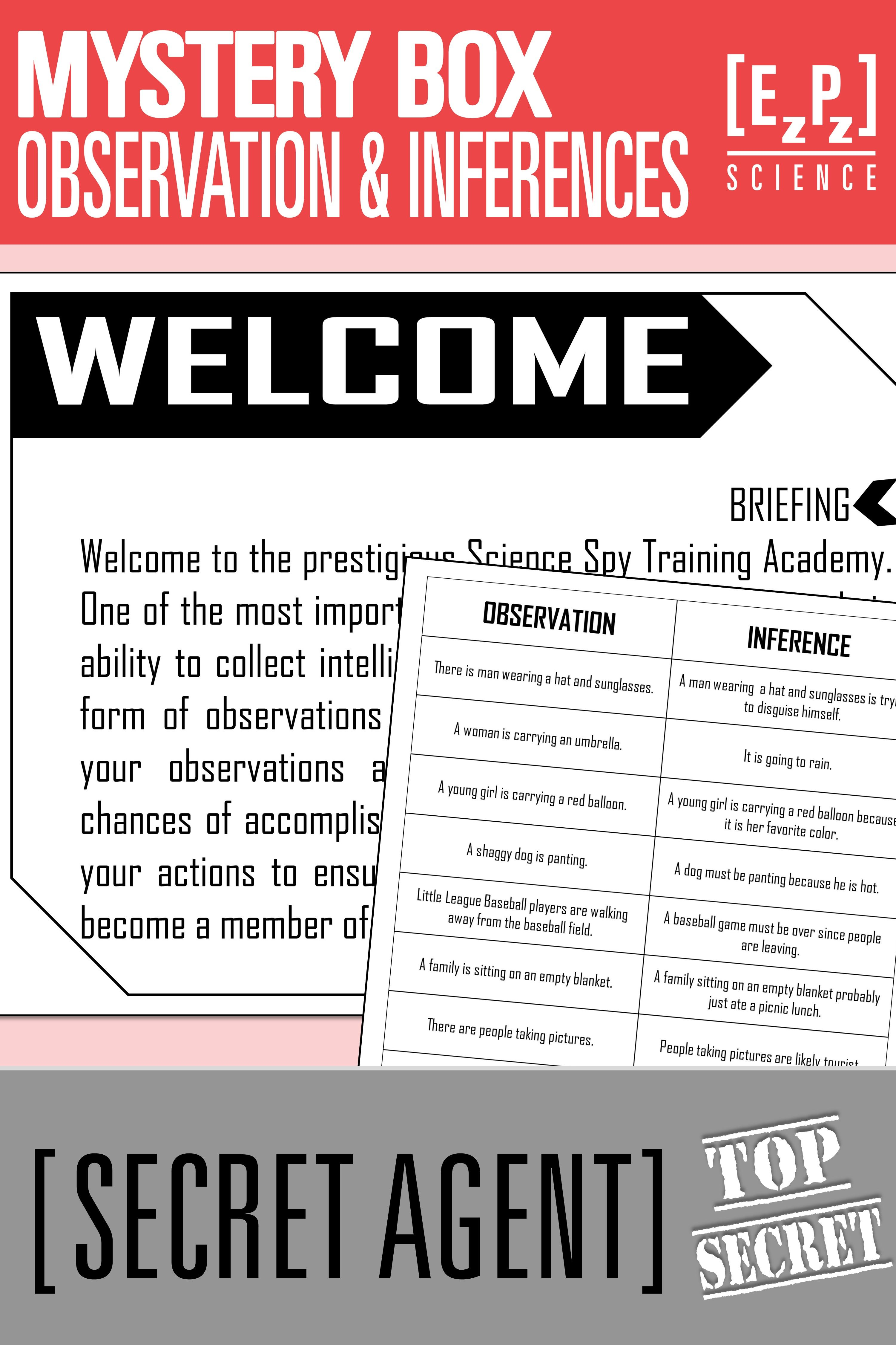 Students Will Have A Blast With This Observations And