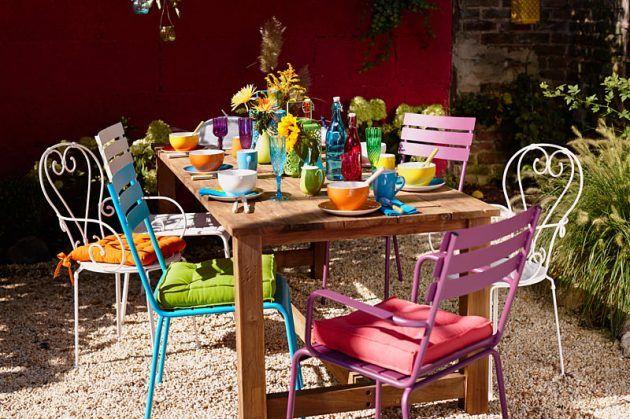 Butlers Gartenmöbel garten und balkon gestalten mit farbe bitte balkon gestalten