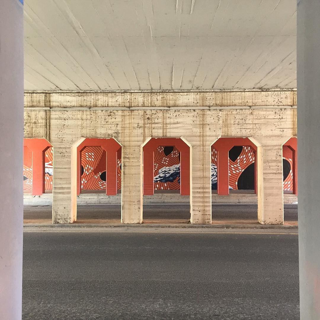 Under the #Bricktown bridge | #igokc #weekendfun #underthebridge