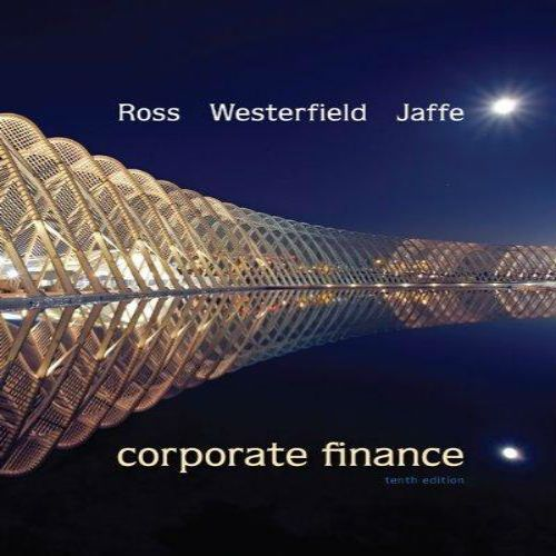 solution manual for corporate finance 10th edition by stephen ross