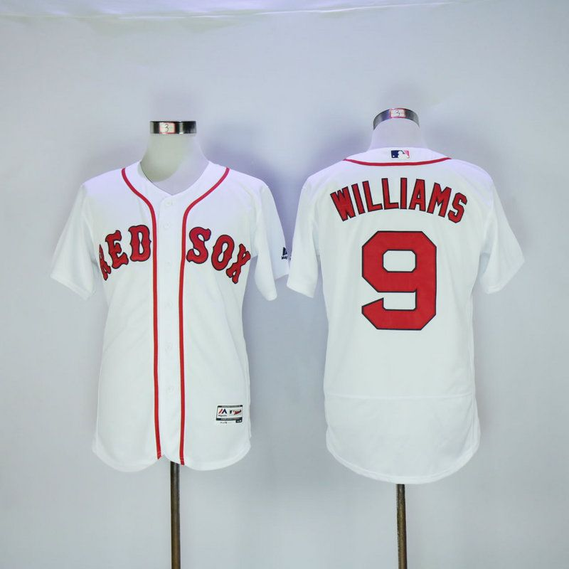 check out bcefc 21565 New Boston Red Sox Jersey Mens 9 Ted Williams White Flexbase ...