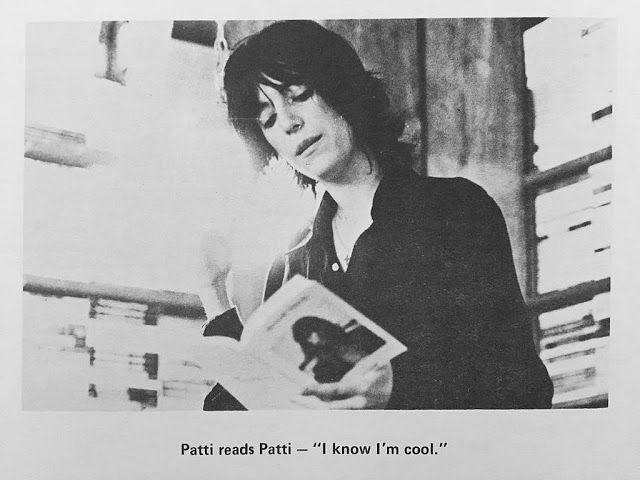 Heroine of punk : Photo | Patti smith, Celebrities reading ...