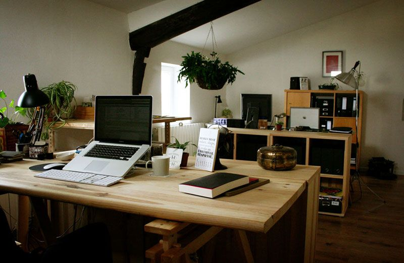 The Home Office Studio Of One Of My Favorite Graphic Designers
