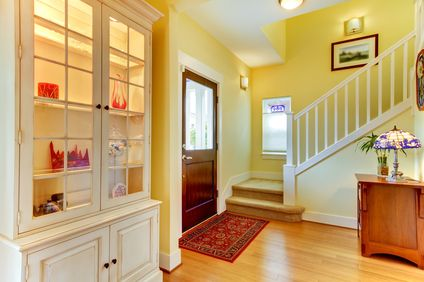 Orange Painted House Interior   Google Search