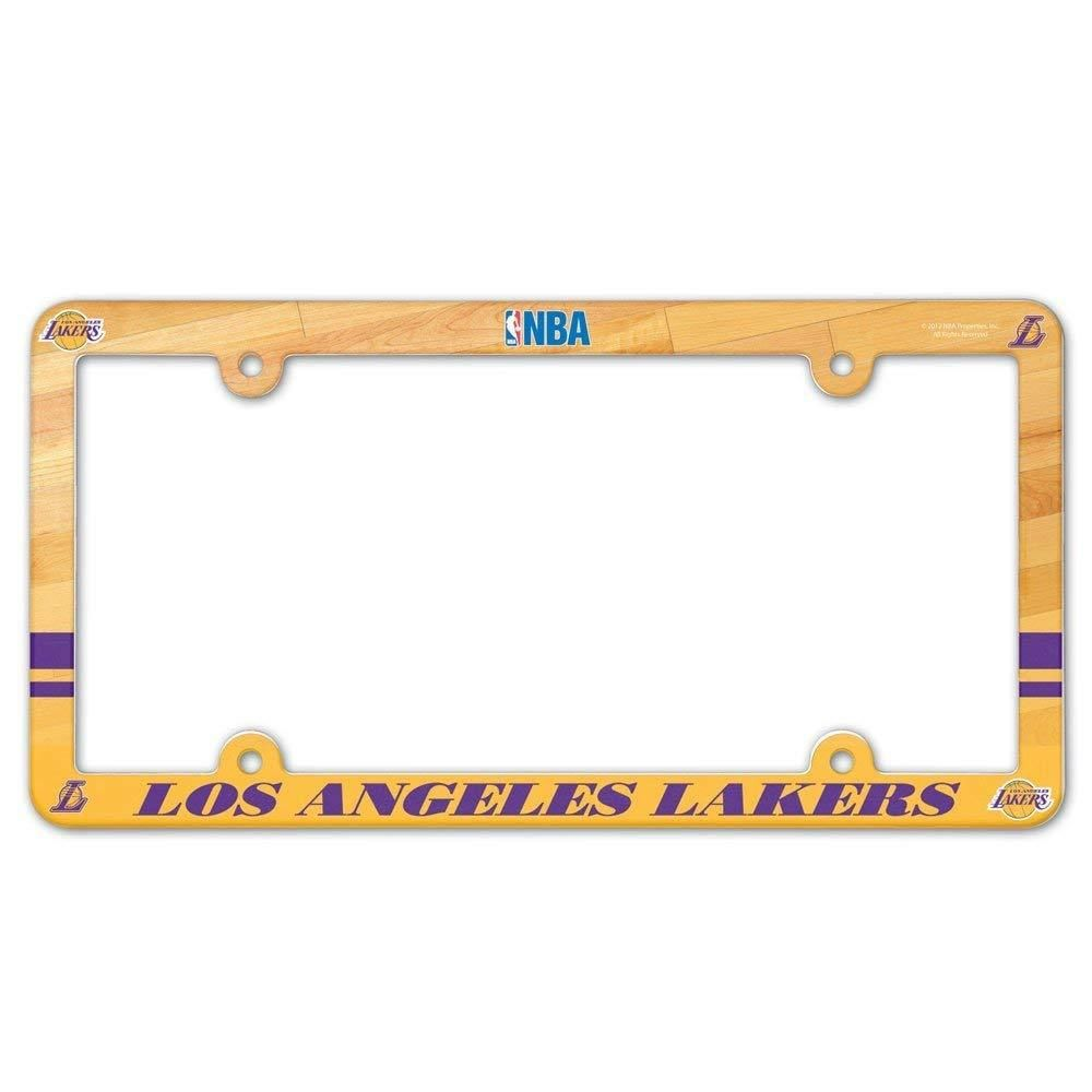 Los Angeles Lakers Full Color License Plate Cover Frame NEW ...