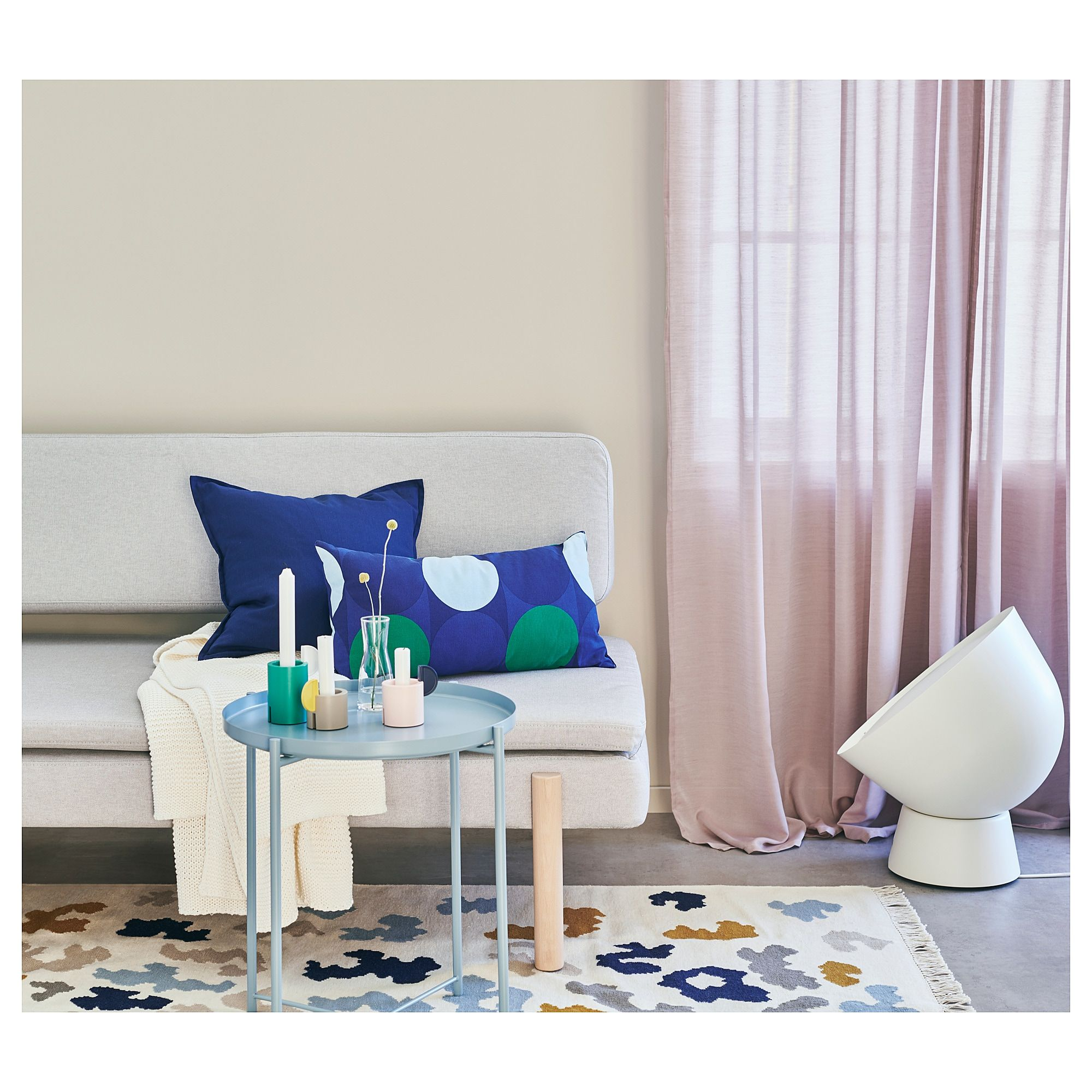 Dienblad Met Kussen Ikea Ikea Krokuslilja Cushion Blue Green In 2019 Products