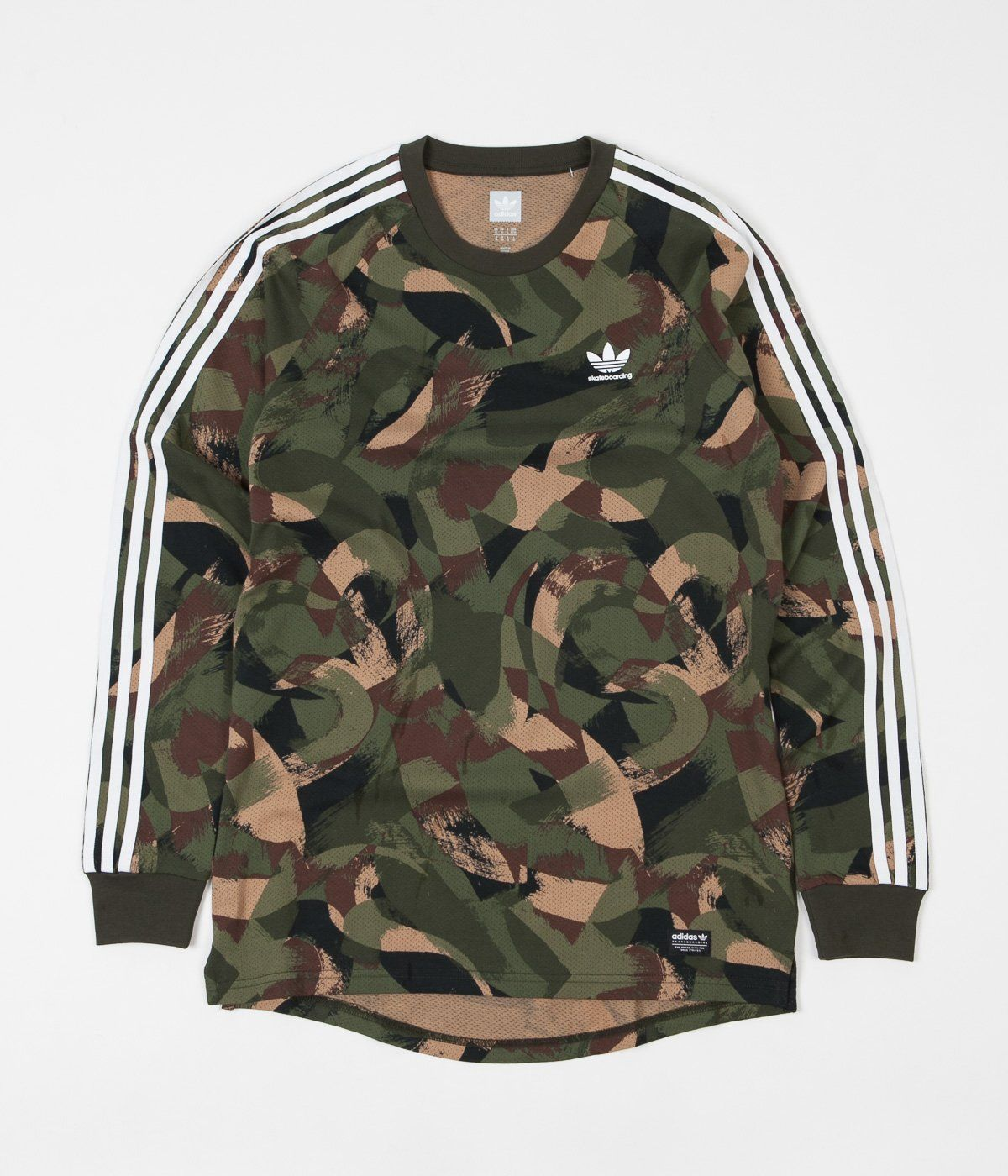 adidas Originals Camo Long Sleeve T Shirt