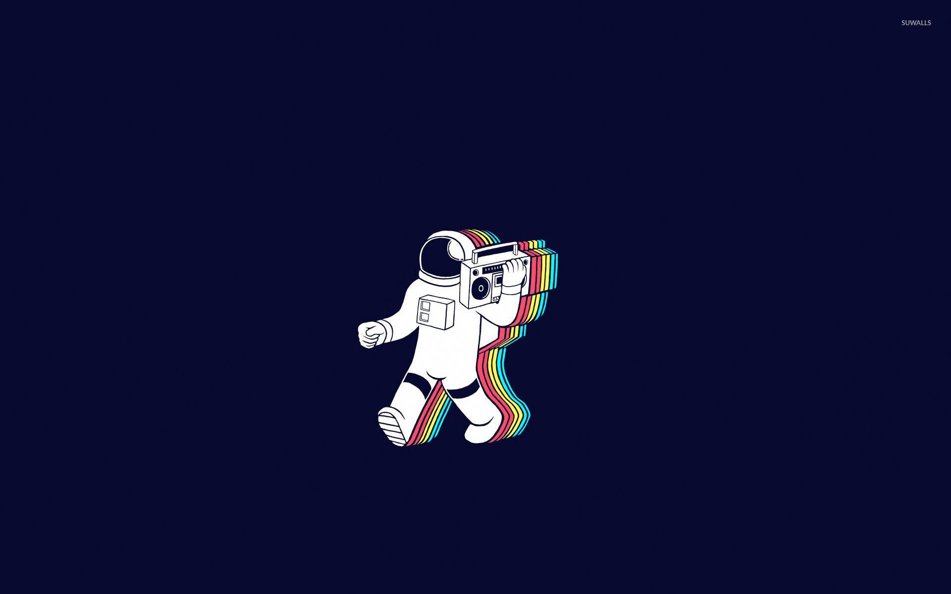Astronaut Wallpaper Hd Resolution Astheticwallpaperiphoneminimal Astronaut Wallpaper Desktop Wallpaper Art Aesthetic Desktop Wallpaper
