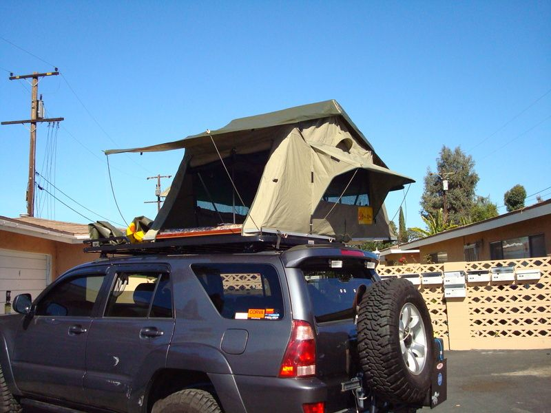 Roof Top Tents! - Page 3 - Toyota 120 Platforms Forum & Roof Top Tents! - Page 3 - Toyota 120 Platforms Forum | 4Runner ...