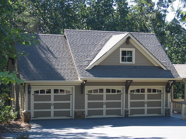 Plan 053g 0013 garage plans and garage blue prints from for Garage door plans free