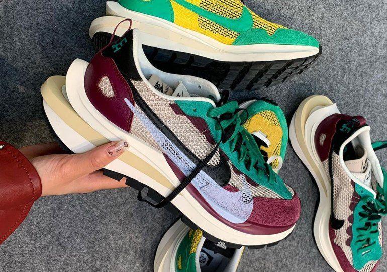 Sacai Nike Vaporwaffle Fall 2020 Release Info Sneakernews Com In 2020 Nike Sacai Sneakers