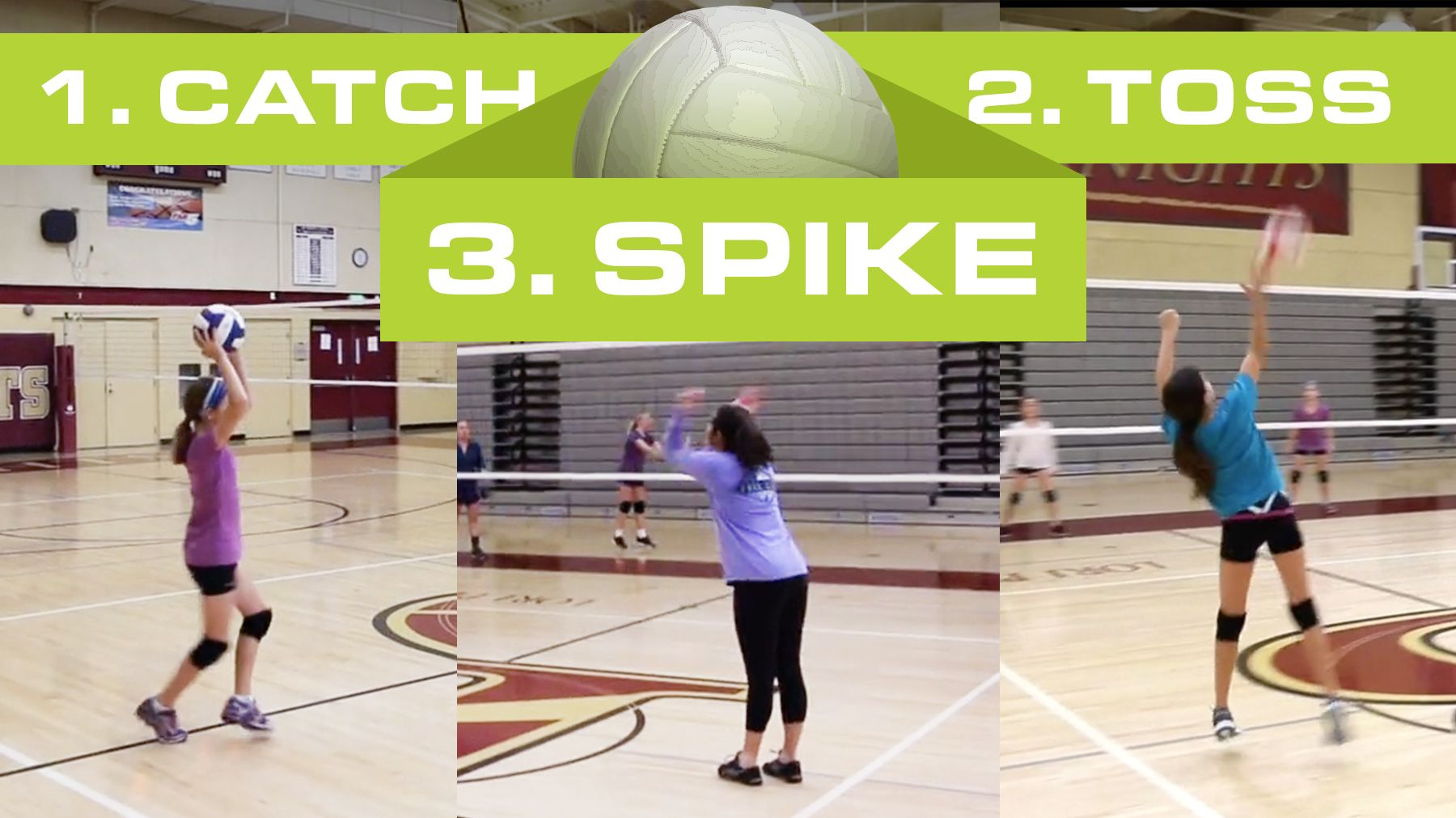 Catch Toss Spike Game For Beginners The Art Of Coaching Volleyball Volleyball Drills For Beginners Coaching Volleyball Volleyball Drills