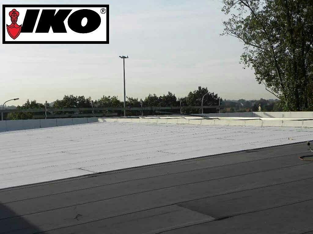 Sustainable Flat Roof Waterproofing Iko Carbon Benefits Roof Resistant Variant Aesthetic Black Finish Flat Roof Waterproofing Roof Waterproofing Flat Roof