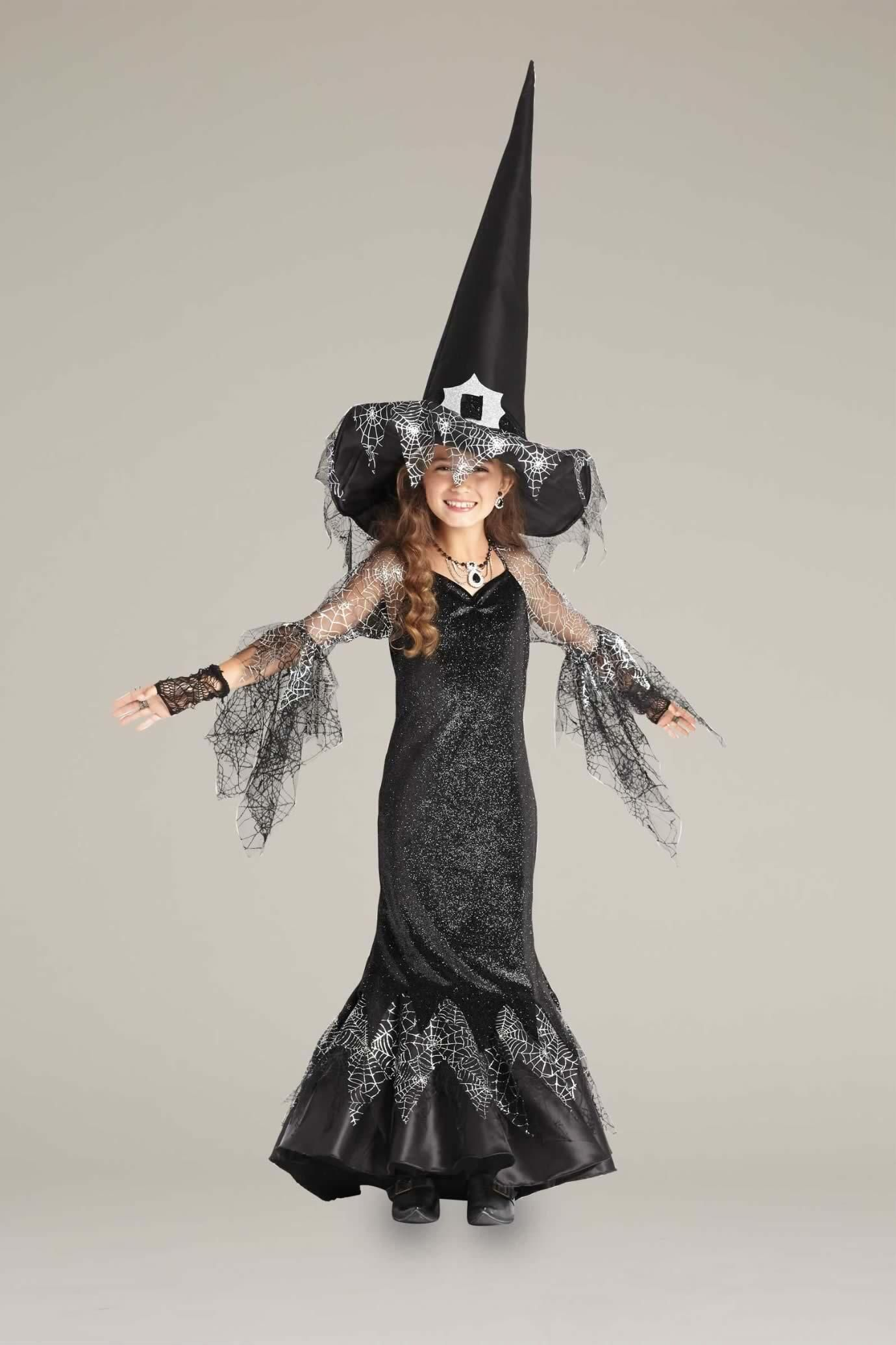 Spiderweb Witch Costume Girls Costumes Witches Chasing Fireflies Ballroom Dancer