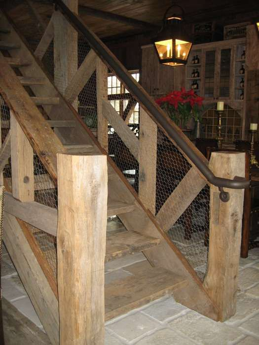 Best Pipe Rails With A Rustic Finish Complemented By Chicken 400 x 300