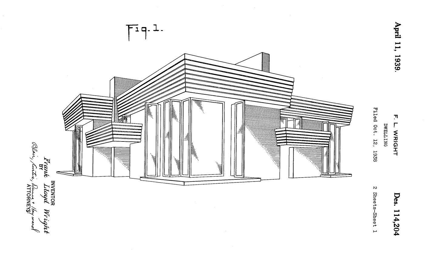 Perspective. Suntop Homes: Otto Mallery & Tod Company duplex. 1939 ...