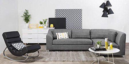 Fabhomedecor Mia Fhd340 Five Seater Sofa Grey Sofa Set
