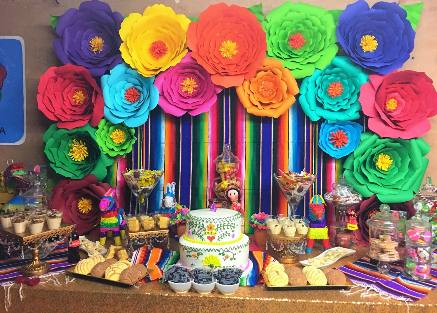 Mexican fiesta fiesta mexicana pinterest mexican for Mexican party decorations