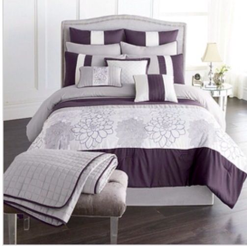purple bedroom riverbrook rose collage sears.ca | home