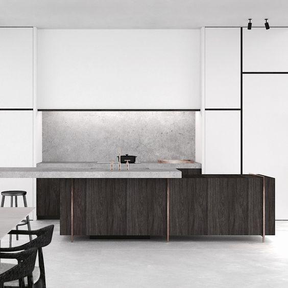 Office Kitchen Interior Design: PS Extension In Spiere-Helkijn Belgium By AD