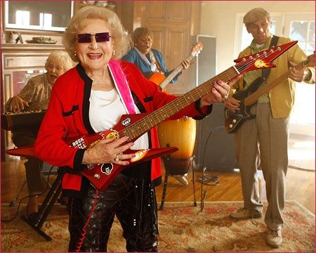 Living life to the fullest, lol, Go Betty! I love this show! #offtheirrockers life