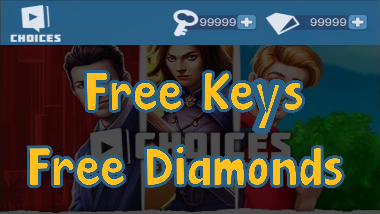 choices unlimited keys and diamonds apk android 1